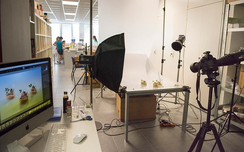 Consulenza set fotografici in azienda